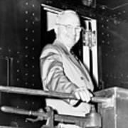 President Harry Truman Art Print