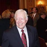 President Jimmy Carter - Nobel Peace Prize Celebration Art Print