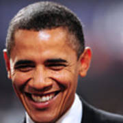 President Obama IIi Art Print