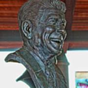 President Reagan Bust Art Print