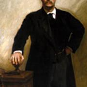 President Theodore Roosevelt Painting Art Print