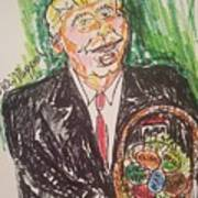 President Trump Art Print