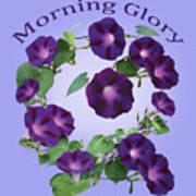 President Tyler Morning Glory Art Print