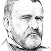 President Ulysses S Grant Art Print