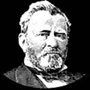 President Ulysses S. Grant Art Print