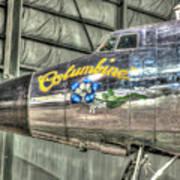 Presidential Aircraft - Lockheed Vc-121e Columbine Art Print