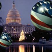 Presidential Balls Art Print
