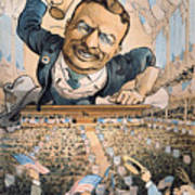 Presidential Campaign, 1904 Art Print
