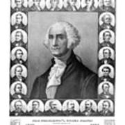 Presidents Of The United States 1789-1889 Art Print
