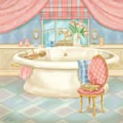 Pretty Bathrooms II Art Print