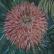 Pretty Dahlia Art Print