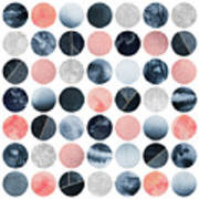 Pretty Dots Art Print