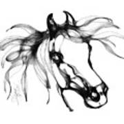 Pretty Filly's Ears Print by Stacey Mayer
