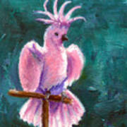 Pretty In Pink Aceo Art Print