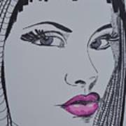 Pretty In Pink Lips Art Print