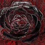 Pretty In Red Art Print