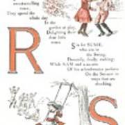Pretty Name Abc R And S Art Print