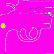 Pretty Revolver Art Print