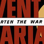 Prevent Malaria - Shorten The War  Art Print