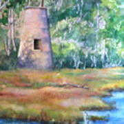 Price's Creek Light Art Print