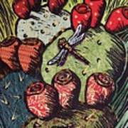 Prickly Pear Print by Candy Mayer