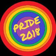 Pride Circles Art Print