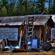 Priest Lake Lumber Mill Art Print