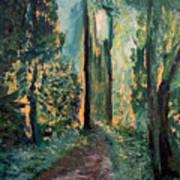Priest Point Trail Art Print