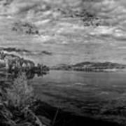 Priest River Panorama 2 Art Print