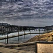 Priest River Panorama 6 Art Print