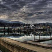 Priest River Panorama 7 Art Print