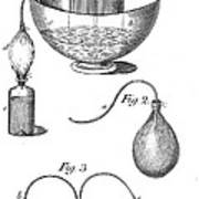 Priestleys Gas Manipulating Apparatus Art Print