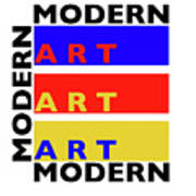 Primary Modern Art Print
