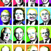'prime Ministers Question Time X 16' Art Print
