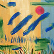 Primitive Paradise Art Print