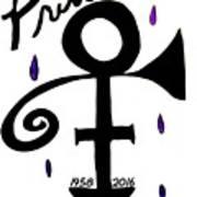 Prince 1958-2016 Art Print