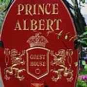 Prince Albert Guest House Sign Provincetown Art Print