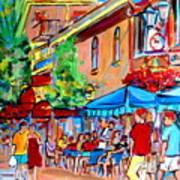 Prince Arthur Street Summer Art Print