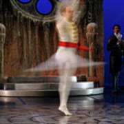 Prince Charming In Blurred Spin While Dancing In Ballet Jorgen P Art Print
