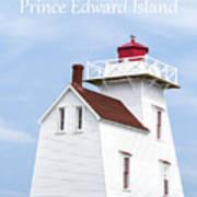 Prince Edward Island Lighthouse Poster Art Print
