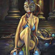 Princess Dejah Thoris Of Helium Art Print