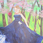 Princess In The Forest Art Print