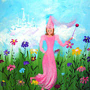 Princess Kennedy's Garden Art Print
