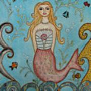 Princess Mermaid Art Print