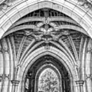 Princeton University Arched Walkway Art Print