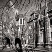 Princeton University Foulke And Henry Halls Archway Art Print