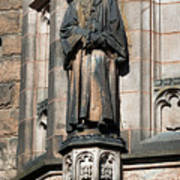 Princeton University J Witherspoon Statue  Art Print