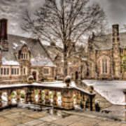Snow / Winter Princeton University Art Print