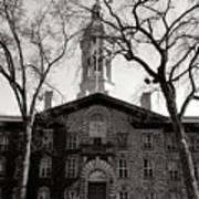 Princeton University Nassau Hall  Art Print