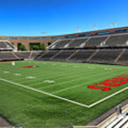 Princeton University Stadium Powers Field Art Print